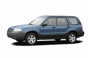3/4 Front Glamour 2007 Subaru Forester