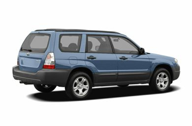 3/4 Rear Glamour  2007 Subaru Forester
