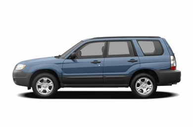 90 Degree Profile 2007 Subaru Forester