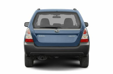 Rear Profile  2007 Subaru Forester