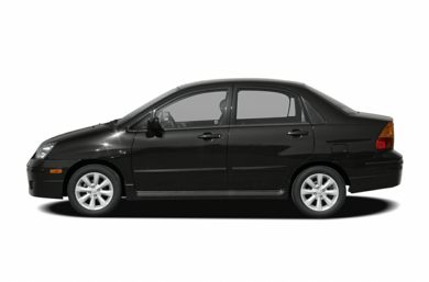 90 Degree Profile 2007 Suzuki Aerio