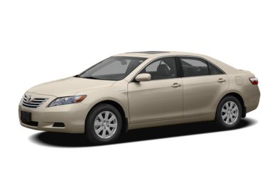 3/4 Front Glamour 2007 Toyota Camry Hybrid