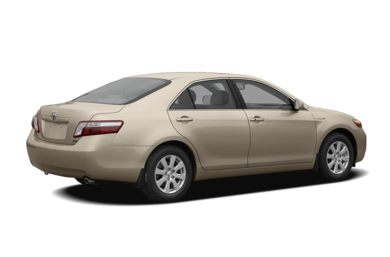 3/4 Rear Glamour  2007 Toyota Camry Hybrid