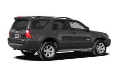 3/4 Rear Glamour  2007 Toyota 4Runner
