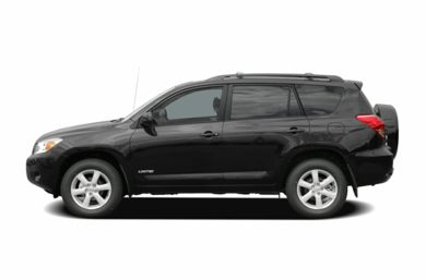 90 Degree Profile 2007 Toyota RAV4
