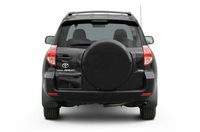 Rear Profile  2007 Toyota RAV4