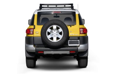 Rear Profile  2007 Toyota FJ Cruiser