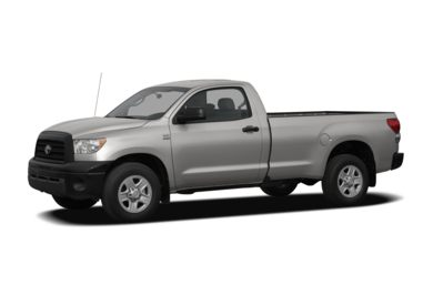 3/4 Front Glamour 2007 Toyota Tundra