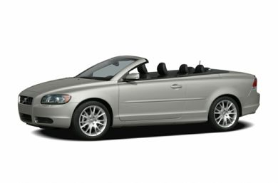 3/4 Front Glamour 2007 Volvo C70