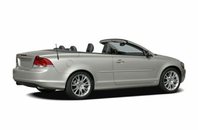 3/4 Rear Glamour  2007 Volvo C70