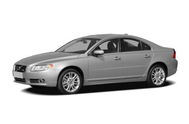 3/4 Front Glamour 2007 Volvo S80