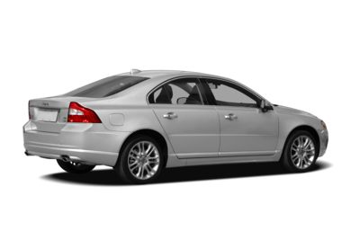 3/4 Rear Glamour  2007 Volvo S80