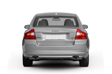 Rear Profile  2007 Volvo S80