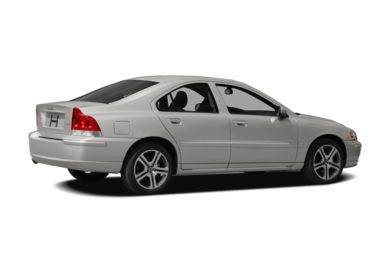 3/4 Rear Glamour  2007 Volvo S60