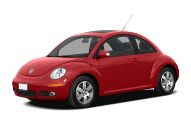 3/4 Front Glamour 2007 Volkswagen New Beetle