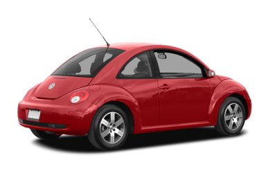 3/4 Rear Glamour  2007 Volkswagen New Beetle