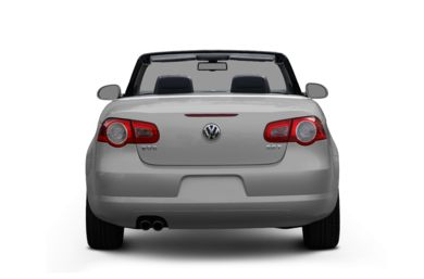 Rear Profile  2007 Volkswagen Eos