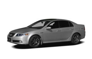3/4 Front Glamour 2008 Acura TL