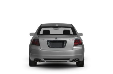 Rear Profile  2008 Acura TL