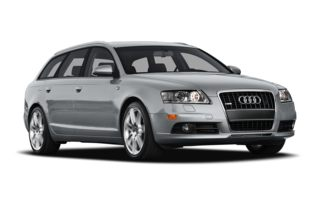 3/4 Front Glamour 2008 Audi A6