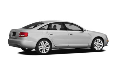 3/4 Rear Glamour  2008 Audi S6