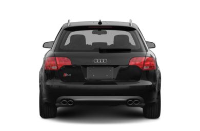 Rear Profile  2008 Audi S4