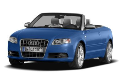 3/4 Front Glamour 2008 Audi S4
