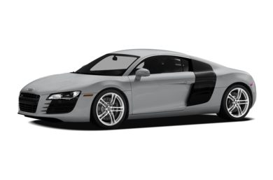 3/4 Front Glamour 2008 Audi R8