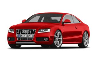 3/4 Front Glamour 2008 Audi S5