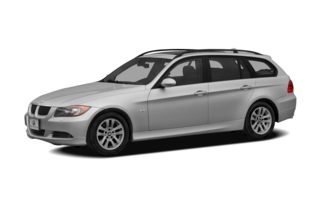 3/4 Front Glamour 2008 BMW 328