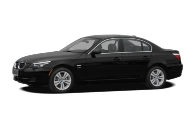 3/4 Front Glamour 2008 BMW 550
