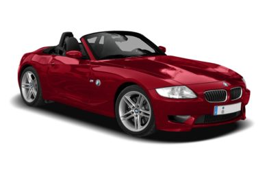3/4 Front Glamour 2008 BMW Z4M