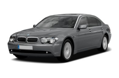 3/4 Front Glamour 2008 BMW 760