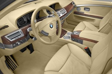 Interior Rear 2008 BMW 760
