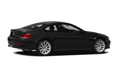 3/4 Rear Glamour  2008 BMW 650