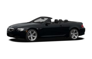 3/4 Front Glamour 2008 BMW M6
