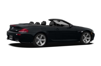 3/4 Rear Glamour  2008 BMW M6