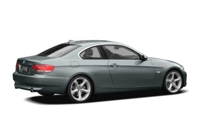 3/4 Rear Glamour  2008 BMW 328