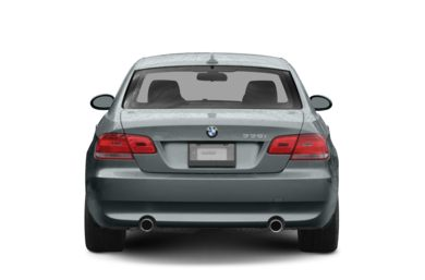 Rear Profile  2008 BMW 328
