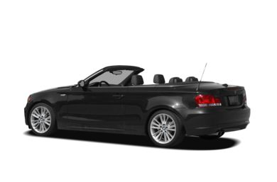 Surround 3/4 Rear - Drivers Side  2008 BMW 128