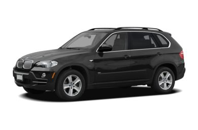 3/4 Front Glamour 2008 BMW X5