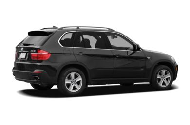 3/4 Rear Glamour  2008 BMW X5