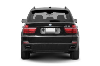 Rear Profile  2008 BMW X5
