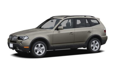 3/4 Front Glamour 2008 BMW X3