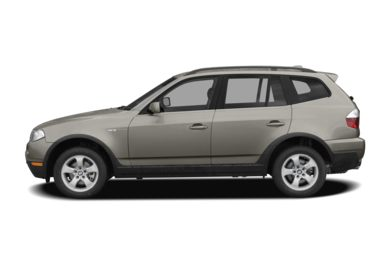 90 Degree Profile 2008 BMW X3