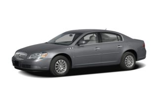 3/4 Front Glamour 2008 Buick Lucerne