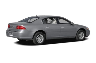 3/4 Rear Glamour  2008 Buick Lucerne