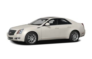3/4 Front Glamour 2008 Cadillac CTS