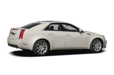 3/4 Rear Glamour  2008 Cadillac CTS