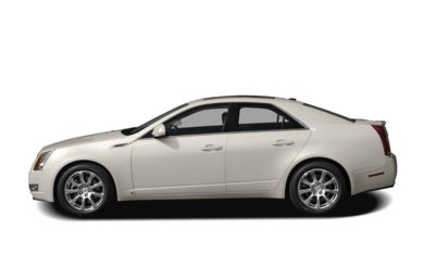 90 Degree Profile 2008 Cadillac CTS